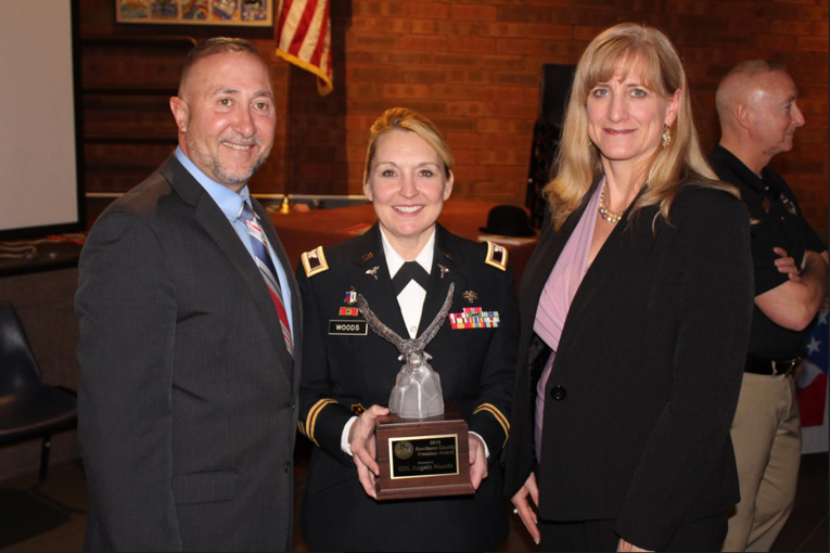 Seventh Annual Freedom Award Presented to Congers Resident