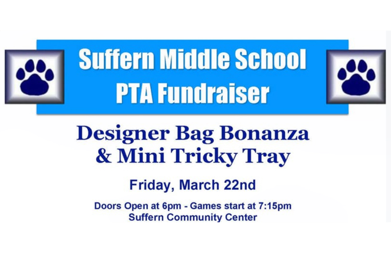 Suffern Middle School Designer Bag Bingo March 22nd