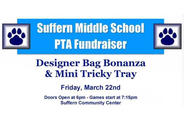 Suffern Middle School Designer Bag Bingo March 22nd