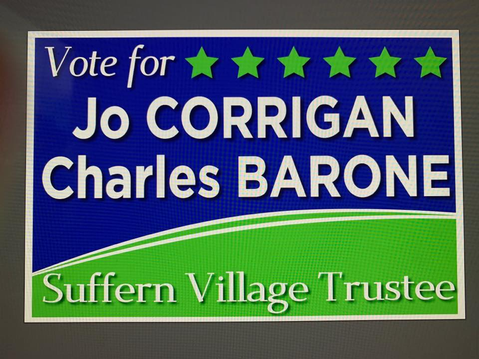 Candidate Bio: Charles Barone for Village of Suffern Trustee