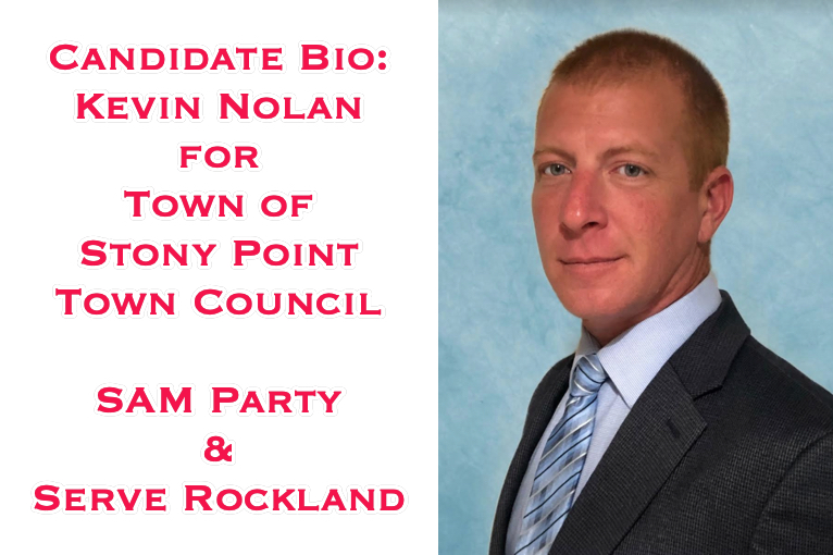 Candidate Bio: Kevin Nolan for Stony Point Town Council