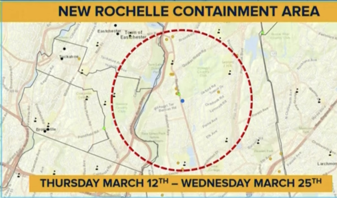 Video: Cuomo Creates Containment Zone and Deploys National Guard to New Rochelle