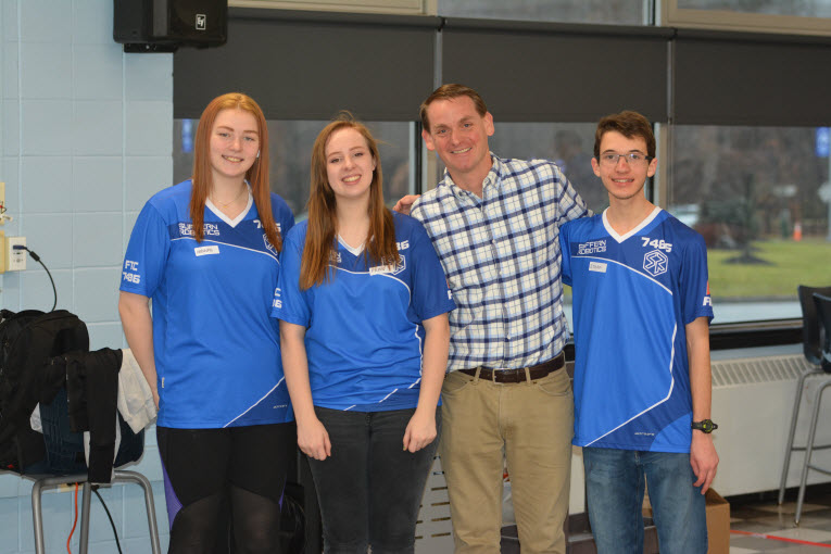 Suffern High School Robotics Team's First Open House Draws Young & Old