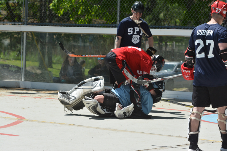 Photo Gallery: Suffern Fire Department Collides with Suffern Police Department in DARE Hockey Showdown